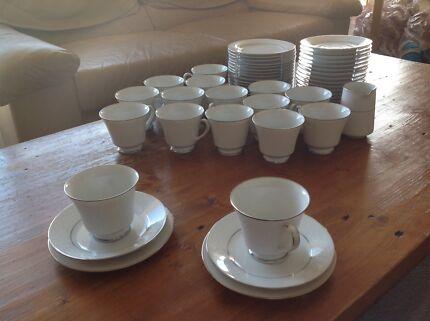 NORITAKE TEA SET 53 PIECE TAHOE DESIGN Woollahra Eastern Suburbs Preview