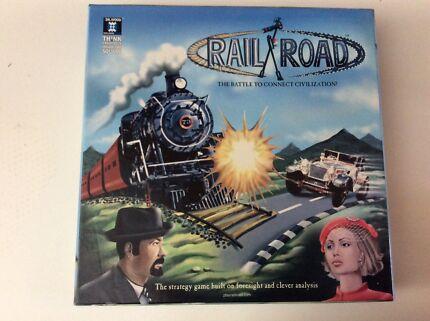 RAIL ROAD BOARD GAME
