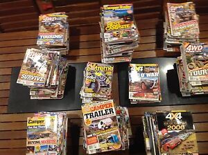4WD Magazines (assorted) Lockleys West Torrens Area Preview