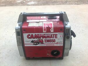 EM650 Honda generator Bunbury Bunbury Area Preview