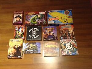 Boardgames moving sale
