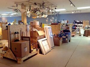 A large selection of lighting for sale #HFHGTA Newmarket ReStore