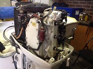 Outboard motor johnson 70 hp tilt trim Seabrook Hobsons Bay Area Preview