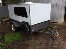 Teardrop type camper sleeps 2 aircond built 2014 registered fridg Mooroopna Shepparton City Preview