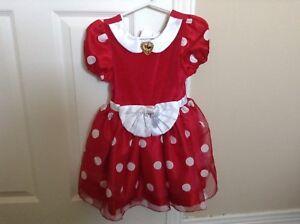 Minnie Dress Size Xs/2/3
