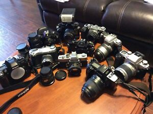 Film cameras and lenses!!!