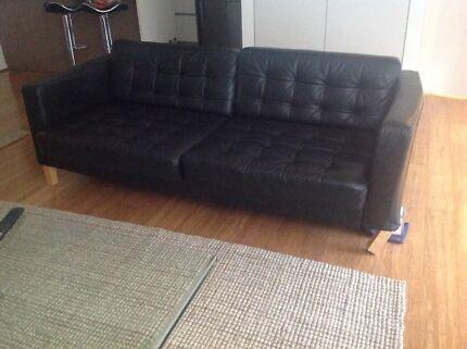 Leather sofa L207W 89