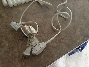3 outlet power cord