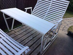 Balan oire meubles terrasse jardin dans lanaudi re for Balancoire 4 places costco