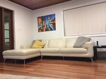 Bradley leather sofa and chaise lounge within warranty Croydon Park Canterbury Area Preview