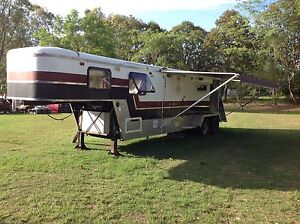 5th wheel multi purpose horse/bike trailer Jimboomba Logan Area Preview