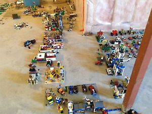 COLOSSAL LEGO CITY FOR SALE!!! BUY INDIVIDUAL OR ALL TOGETHER!!!