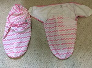 Baby girl swaddles 0-3 months