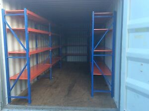 SHELVING RACKING FOR SHIPPING CONTAINERS SHED STORAGE WORKSHOP Woodford Moreton Area Preview