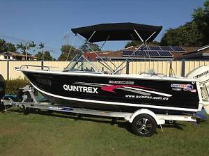 2012 QUINTREX 5.3M FREEDOM SPORT 115hp EVINRUDE WITH EXTRAS Strathpine Pine Rivers Area Preview