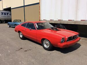 1977 Ford Mustang pro street ex race car
