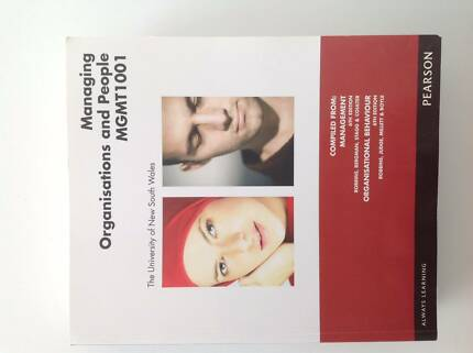 TEXTBOOK - Managing Organisations and People MGMT1001