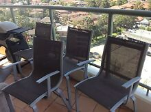 4 Outdoor dining chairs Rockdale Rockdale Area Preview