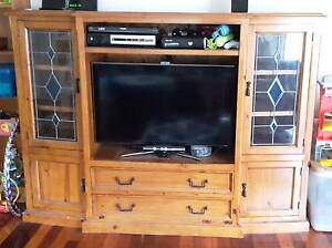 Solid Timber TV Cabinet Annerley Brisbane South West Preview