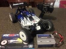 RC Team associated AE8.2E 1/8 scale brushless competition buggy Maddington Gosnells Area Preview