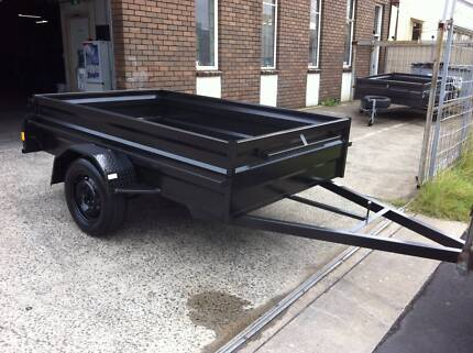 "7x5x20"" high side heavy duty trailer 1 year free private rego Mortdale Hurstville Area Preview"