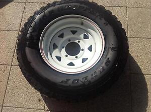 Tyre and rim from jayco caravan Palmyra Melville Area Preview