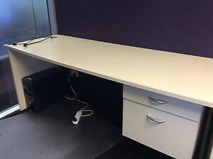 Large Maple finish workstation Parkside Unley Area Preview
