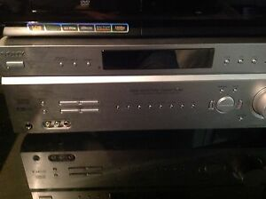 Sony 7.1'home theatre receiver and speakers