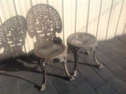 6 outdoor chairs very comfy PLUS new RUG   Outdoor Dining Furniture ...