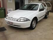 """2002 AU111 FORD FALCON AUTO UTE """" TRADIE UTE """" LOW K's Clontarf Redcliffe Area Preview"""