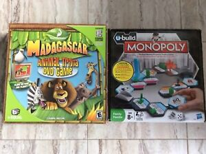 Madagascar DVD game and monopoly