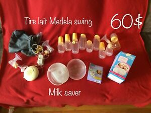 Tire lait medela swing et milk saver