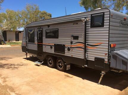 2016 Island Star family Caravan 23 ft in beautiful condition