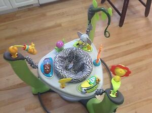 Exersaucer Jump and Learn Safari Friends