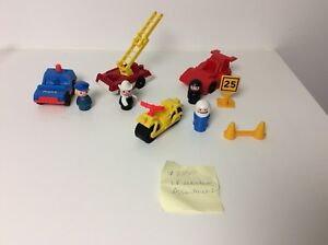 Fisher Price vintage Little People Vehicles Assortment set