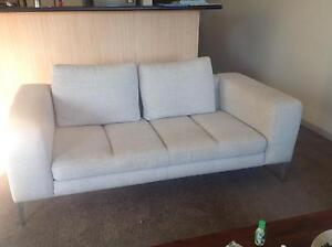 Nick Scali Zaldo 3 seater and 2 seater lounge set Rose Bay Eastern Suburbs Preview
