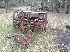 Antique Mitchell Drill Cultivator & Manual Busselton Busselton Area Preview
