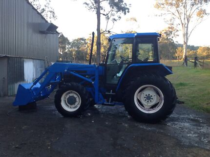 Ford 6640 4wd tractor. Nabiac Great Lakes Area Preview