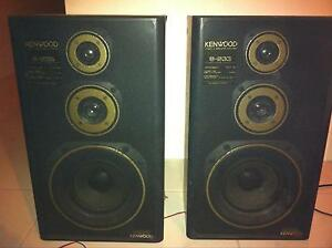 2x Kenwood F(L+R) speakers Henley Brook Swan Area Preview