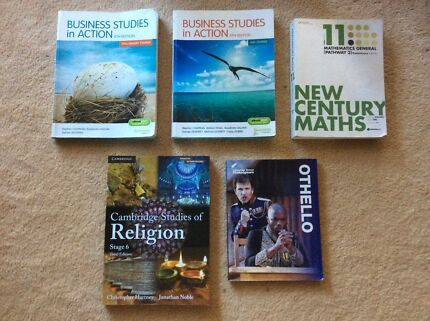 HSC Textbooks - For Sale Separately or as a Bundle (Will Post)
