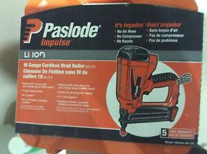 Paslode Impulse Li-Ion 18GA Brad Nailer