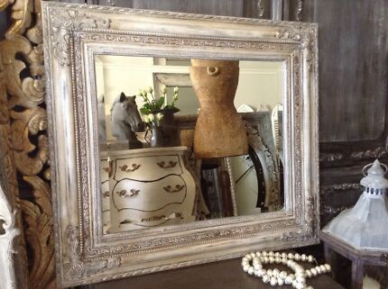 "SOLD...   ""A Fine Vintage!!""  French Vintage Mirror Butler Wanneroo Area Preview"