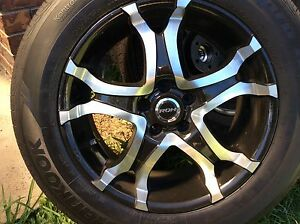 4 x roh wheels with hankook tyres 235/60/r18 done under 1000kms Capalaba Brisbane South East Preview
