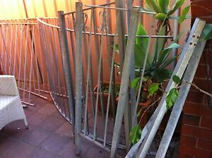 galvanised fencing Chiswick Canada Bay Area Preview