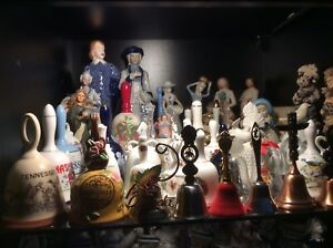 VINTAGES BELLS COLLECTIONS & ASSORTED FIGURINES