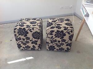 Ottomans - matching pair Rose Bay Eastern Suburbs Preview