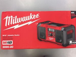 Milwaukee M18 Jobsite Radio - BRAND NEW SEALED