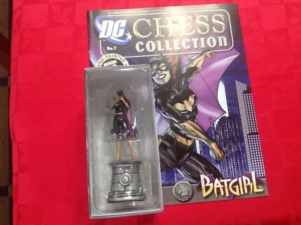 DC  Chess Collection Pieces
