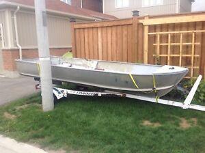 14' Aluminum boat and motors