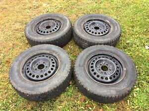 Tires and rims.  205/70r15. Best offer